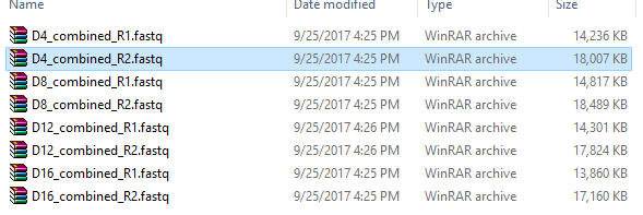 How I will import Combined R1 fastq and R2 fastq files into QIIME2