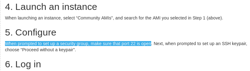 Unable to ssh into AWS instance - Technical Support - QIIME