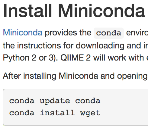 Installing QIIME2 within Conda environment - User Support - QIIME 2